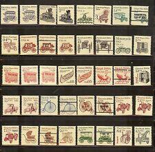 Mint Set Trans.Coils (80) stamps! Inc Precancels. All NH NICE!