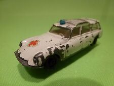 EFSI HOLLAND 409 CITROEN DS BREAK - AMBULANCE - 1:60? WHITE - GOOD CONDITION