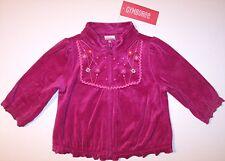 NWT Gymboree Girls Velour Jacket, Peruvian Doll, 18-24M, $28.50