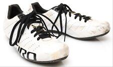 Giro Empire SLX Carbon Men Road Gravel Bike Shoes EU 41.5 US 8.5 White Black