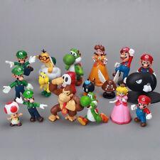 Action Figure Super Mario 18 personaggi Supermario Spedizione Veloce