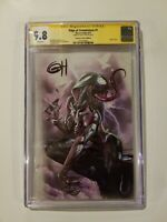 Edge of Venomverse 1 Greg Horn Variant B CGC 9.8 Signed  by Greg Horn