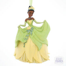 Authentic Disney Parks Tiana Princess and the Frog Glitter Dress Ornament