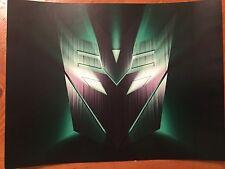 Tin Sign Vintage Transformers Decepticon 1