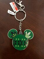 Disney Christmas Ornament Keychain NEW