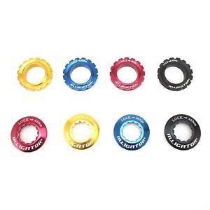 Alligator Bicycle Centerlock Rotor Lock Ring for Shimano Hub Blue Red Gold Black
