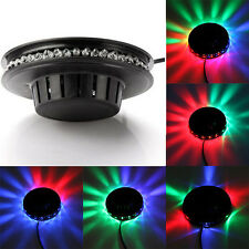 LAMPADA LED RGB MULTICOLOR ROTANTE DISCO CRYSTAL MAGIC BALL EFFETTI LUMINOSI