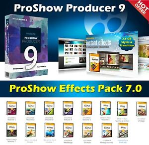 Photodex ProShow Producer 9.0.3797 Full ➕ ProShow Effects Pack 7.0