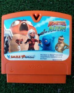 Monstres Contre Aliens JEU VTECH V.SMILE - NEUF sans l'emballage - Vtech Vsmile