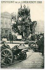 Pierre LAFOND.  EMPRUNT de la LIBéRATION 1918 . Le guichet du CRéDIT DU NORD.