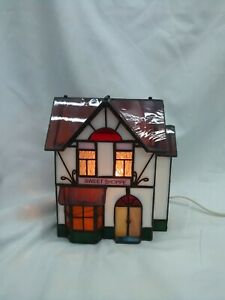 Stained glass light ranp house