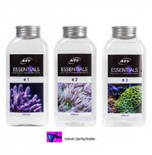 ATI Essentials Set 3 x 1000ml Meerwasser Spurenelemente Korallen Riff Aquarium