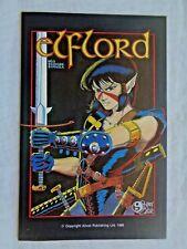 Elflord  Vol. 1  No. 3 April 1986 Aircel Publishing 1st Canadian Print NM (9.4)