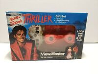 New Vintage Michael Jackson Thriller Gift Set View-Master 3-D No. 2346 1984
