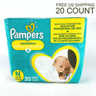 NEW Pampers Couches Swaddlers Newborn 20 Count Size N <10lb Babies