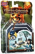 Mega Bloks  Pirates of the Caribbean Jack Sparrow Dead Man's Chest 1011 New!