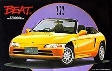 Honda Beat Roadster with Cappotta giallo 1991-96 - 1:24 Kit di costruzione
