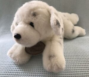 "Russ Berrie Yomiko Classic Dalmation Plush Stuffed Animal 10"" #12065 Black White"