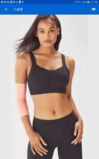 NwT Fabletics Shira Sports Bra Black size Medium