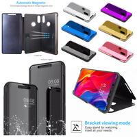 For Xiaomi Mi 8 SE / Max 3/ Mix 3 Slim Flip Cover Luxury Mirror View Stand Case