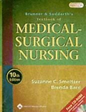 Brunner and Suddarth's Textbook of Medical-Surgical Nursing-ExLibrary