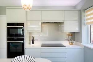 SPECIAL OFFER  20mm white mirror chip ice sparkle quartz kitchen worktops