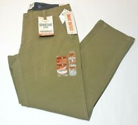 Men's Dockers Downtime Beige Khaki Slim Tapered Fit Smart 360 Flex Pants