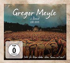 GREGOR MEYLE - LIVE 2015  CD + DVD NEUF