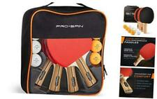 New listing Ping Pong Paddles - High-Performance | Premium Table Tennis 4-Player Set