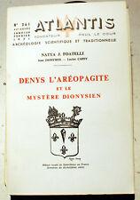 SPIRITISME/DENYS L'AEROPAGITE,MYSTERE DIONYSIEN/REVUE ATLANTIS/N°261/1971/PARIS