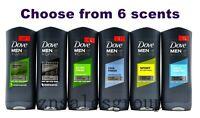 Dove Men + Care Body Wash Face Wash Micro Moisture 400 ml ( 13.5 oz ) 4 Packs