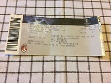 Ticket Milan - Manchester United Champions League Collezionismo