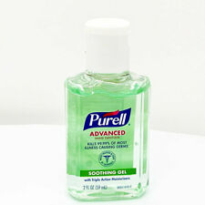 2 x 59ml PURELL Sanitizer Hand Gel Antibacterial Advanced Hygienic Sanitiser