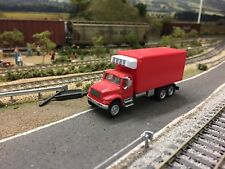 Ho Scale 1:87 - Red Boley Refrigerated Box Truck! Excellent Condition!