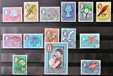 M5 - ST.HELENA 1961 / 63 SET IN SUPERB FINE USED CONDITION ON S/CARD.