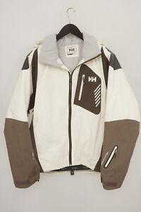 Men Helly Hansen Jacket Skiing Snowboarding Breathable Snow Hellytech M XJK26