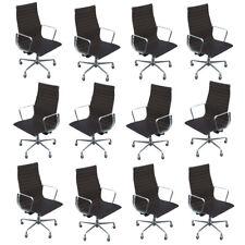 Herman Miller Eames Aluminium Group Executive Chair Leather