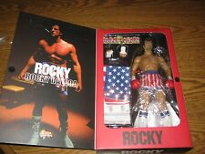 "SIDESHOW/HOT TOYS ROCKY BALBOA, 1/6 ROCKY 12"" Action Figure, SLY STALLONE"