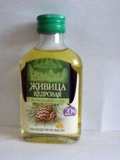Siberian Cedar Resin (20%) in Cedar Nut Oil (80%) , Turpentine, Altay, Siberia