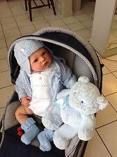 """Rainer, Rare Reborn Baby Boy By Romie Strydom 23.5"""" 6lbsCOA Collectors Treasure"""