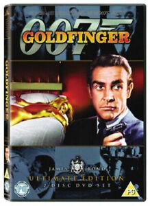 007 - Goldfinger DVD - Ultimate Edition (Region 2, 2010, 2-Disc Set) VGC