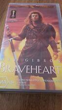 BRAVE HEART - MEL GIBSON   VHS VIDEO