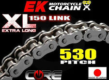 530 PITCH SIZE 150 LINKS EXTENDED EK CHAIN SROZ SERIES HEAVY DUTY SILVER O RING