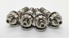 4 PACK TITANIUM STUD M10 X 1.5 AUTOMOTIVE, INTAKE, EXHAUST STUD NUT AND WASHER
