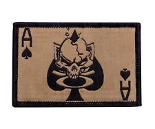OAKLEY SI Standard Issue Tactical Death Card Gold Morale Patch