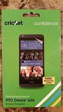 Cricket Wireless HTC Desire 626 Three Layer Screen Protector Multilayer