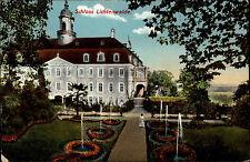 Lichtenwalde Sachsen 1910 Schloss Schlosspark Palace Garden Verlag Ottmar Zieher