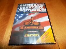 AMERICA'S GREATEST VICTORIES MACARTHUR IN PHILIPPINES History Channel DVD NEW