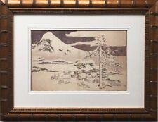"Katsushika Hokusai ""A Realistic Sketchbook"" New Custom Framed Asian Art Japan"