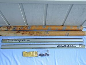 1964 Ford Galaxie Country Sedan Wagon Front Fender Mouldings NOS